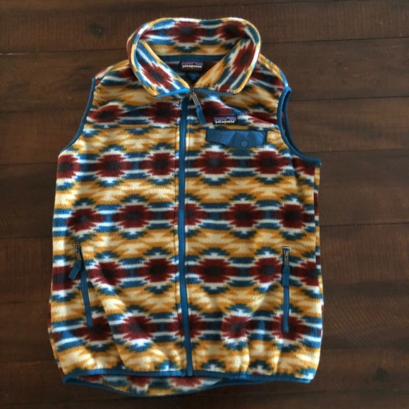 Patagonia Other - Patagonia Synchilla Aztec Fleece Vest